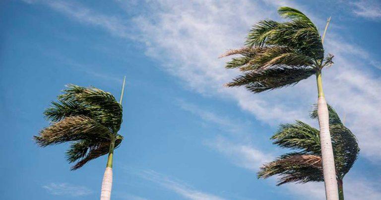 Empuje frío trae vientos de hasta 70 Kph en la zona