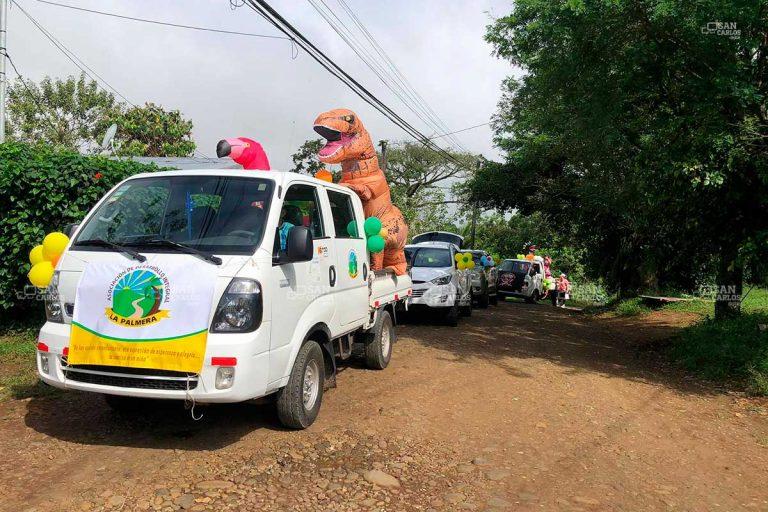 Caravana llevó alegría y regalos a 240 niños de La Palmera